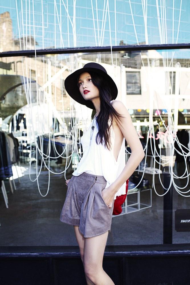 Rachel Rutt by Adrian Mesko for Grazia