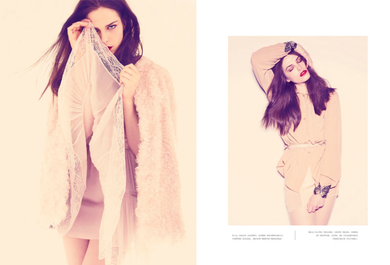 Maxine Schiff by Alvaro Beamud Cortes for Flair December 2010