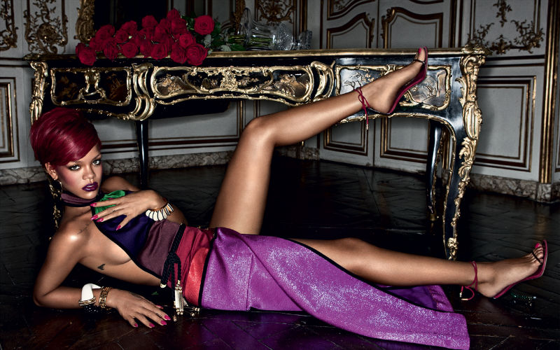 Rihanna for Interview December 2010 by Mikael Jansson