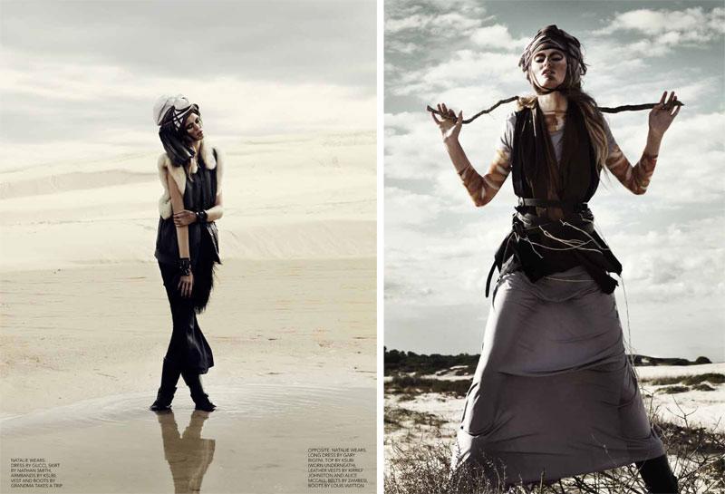 Natalie Keyser by Rupert Tapper for Black #13