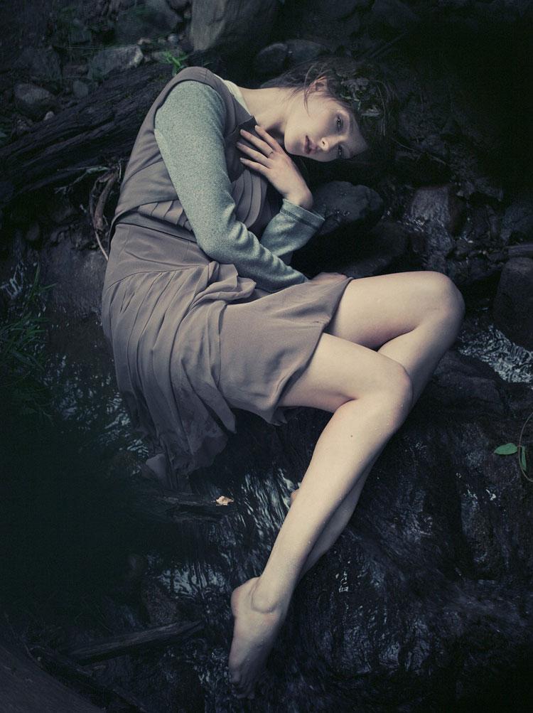 Zen Sevastyanova by Paul de Luna in Meliae | Blank #55