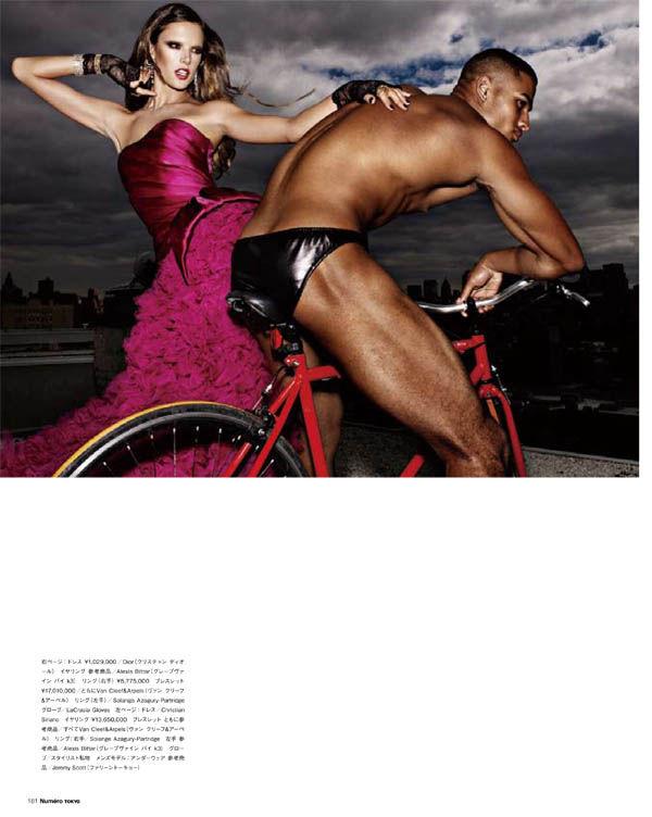 Alessandra Ambrosio by Matthias Vriens-McGrath for Numéro Tokyo January/February 2011