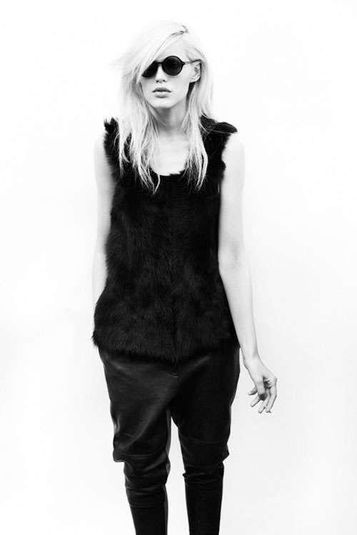 Alys Hale by Adrian Mesko for Fernando Frisoni Fall 2011