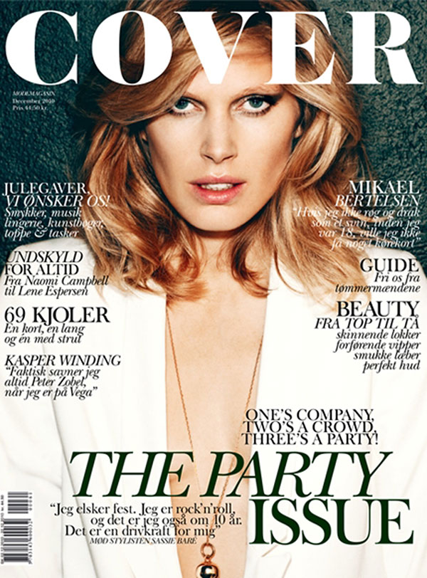 Iselin Steiro for Cover Magazine December 2010 / January 2011