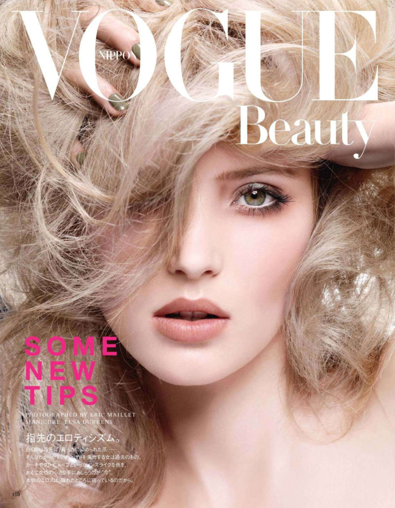 Alexandra Tretter by Eric Maillet for Vogue Nippon January 2011