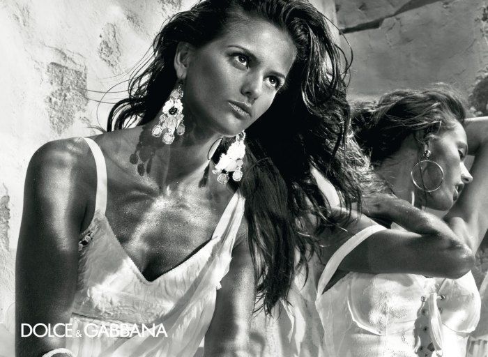 Dolce & Gabbana Spring 2011 Campaign Preview   Alessandra Ambrosio & Izabel Goulart by Steven Klein