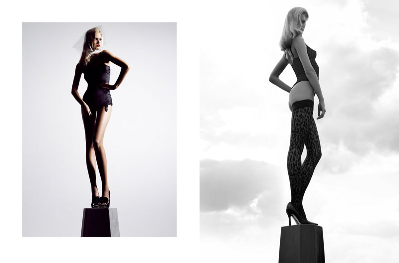 Erin Heatherton by Hasse Nielsen for The Sunday Times UK Style