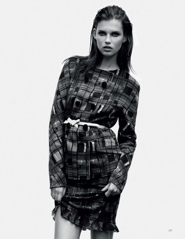Giedre Dukauskaite by Joachim Mueller-Ruchholtz for Tush Winter 2010