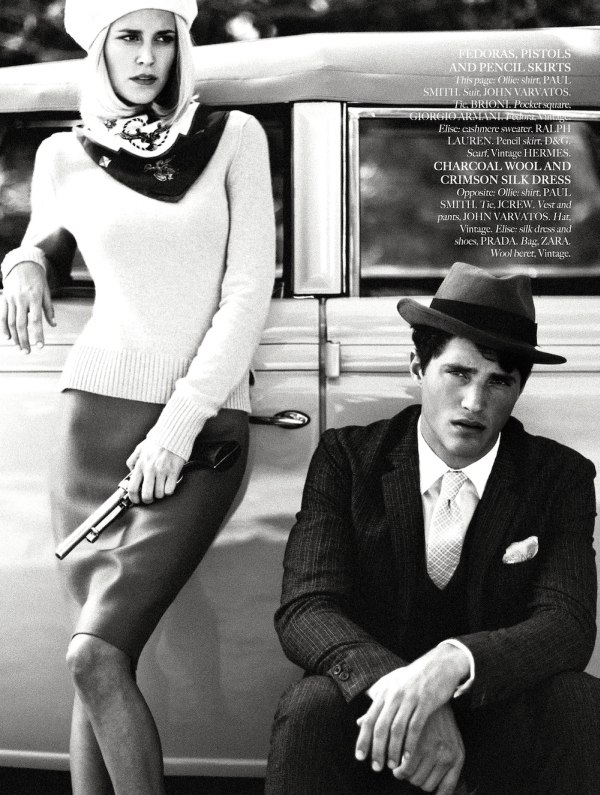 Elise Digby by Aram Bedrossian in Bonnie & Clyde