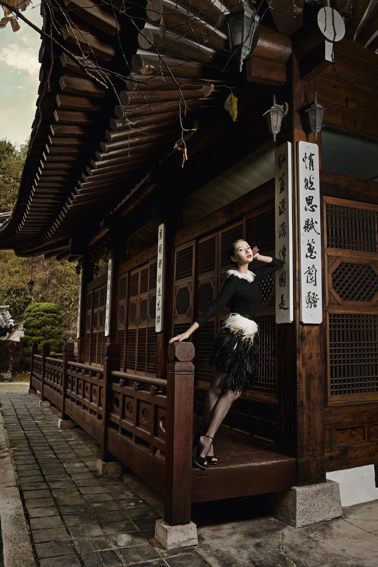 Gao Yuanyuan by Brandon for Harper's Bazaar China January 2011
