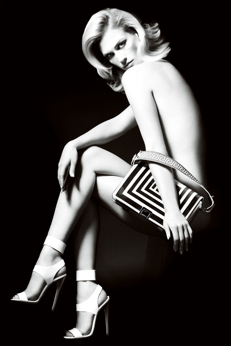 Versace Accessories Spring 2011 Campaign | January Jones by Mario Testino