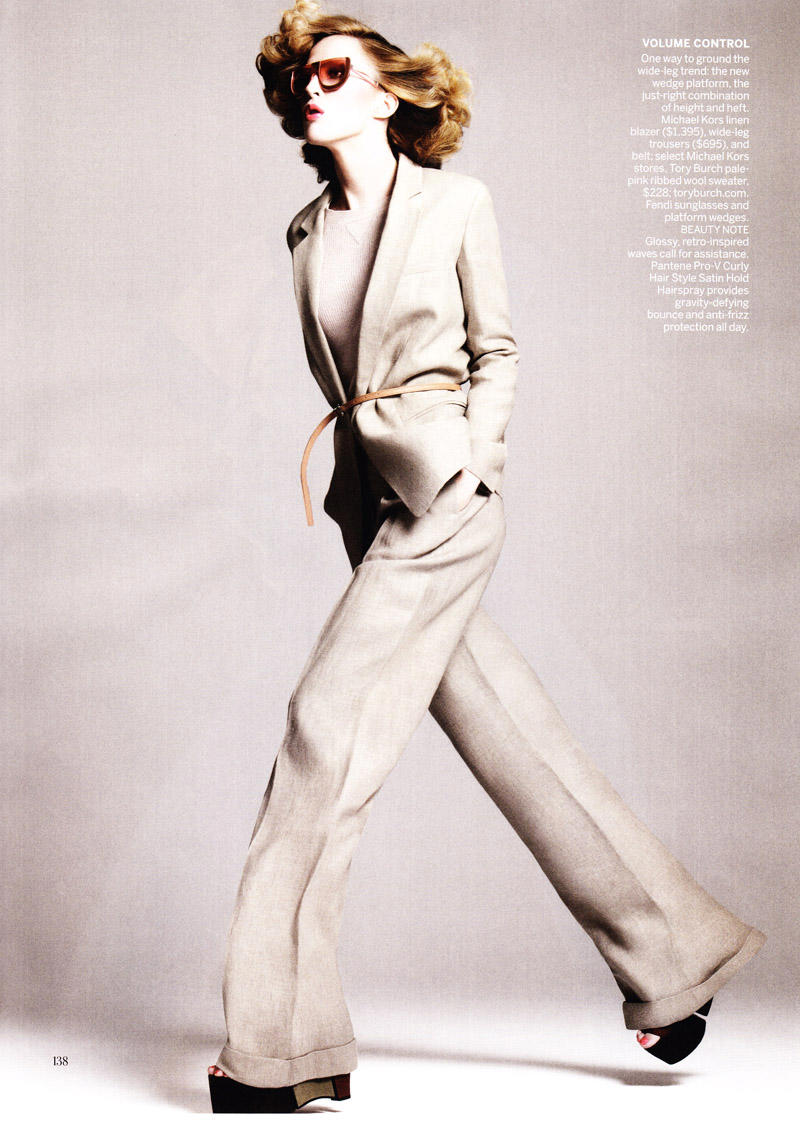 Raquel Zimmermann by David Sims for Vogue US January 2011