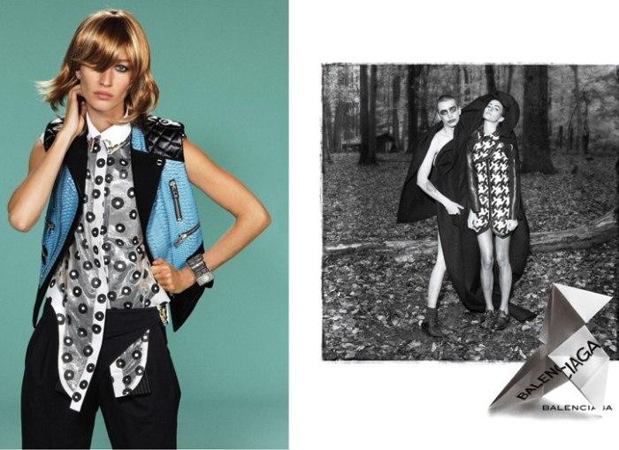 Balenciaga Spring 2011 Campaign Preview   Gisele Bundchen by Steven Meisel