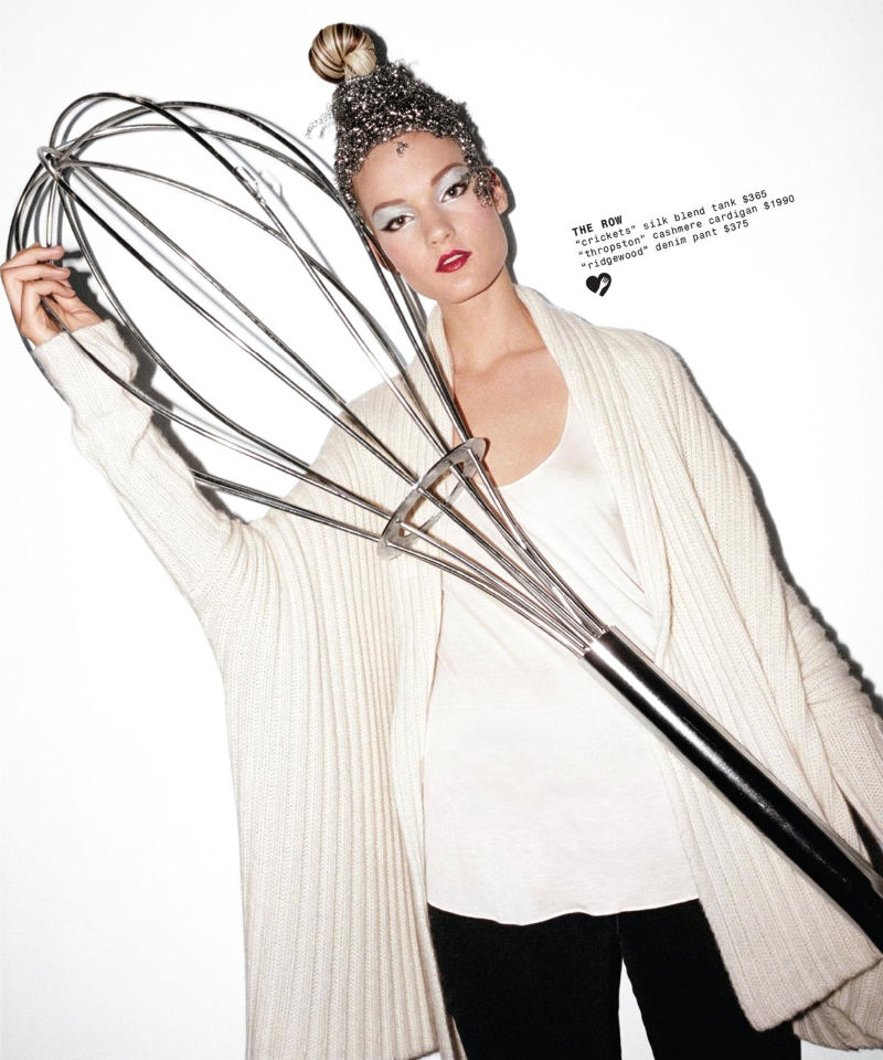 Kirsi Pyrhonen for Barneys Holiday 2010 Catalogue by Magnus Unnar