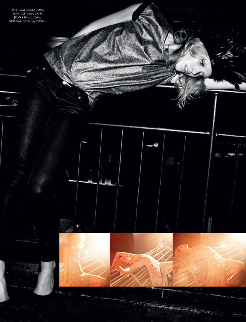 Iselin Steiro for Cover Magazine December 2010 / January 2011 by Rick Shaine