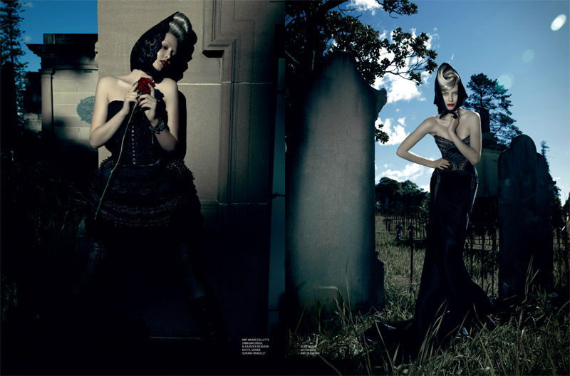 Laura & Rachel by Julie Healy for Karen Magazine #11