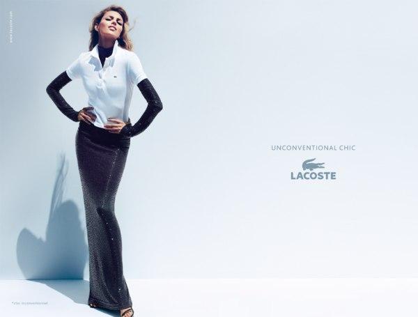 Lacoste Spring 2011 Campaign | Anja Rubik & Liya Kebede by Mert & Marcus