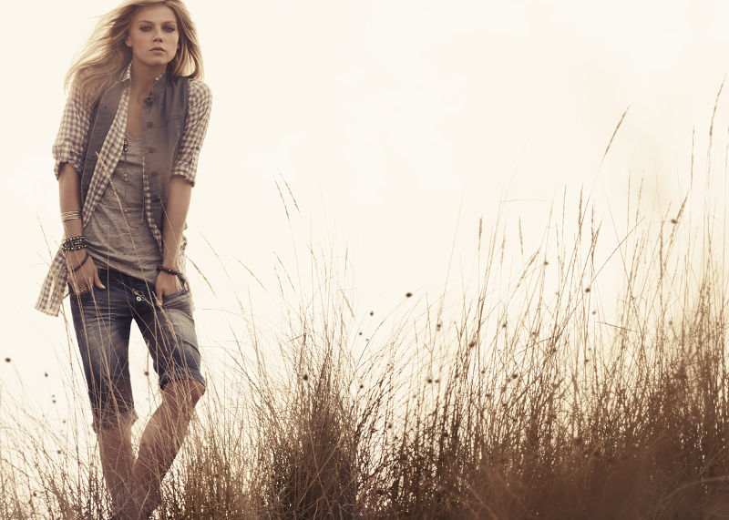 Masha Novoselova by Peter Gehrke for Calliope Spring 2011 Campaign