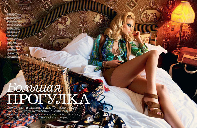 Patricia van der Vliet for Vogue Russia January 2011 by Mariano Vivanco