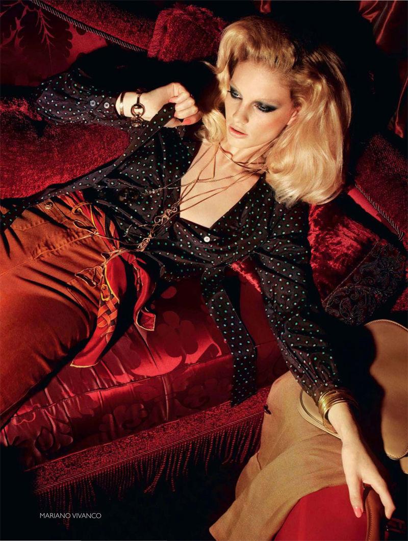 Patricia van der Vliet for Vogue Russia January 2011 by Mariano Vivanco