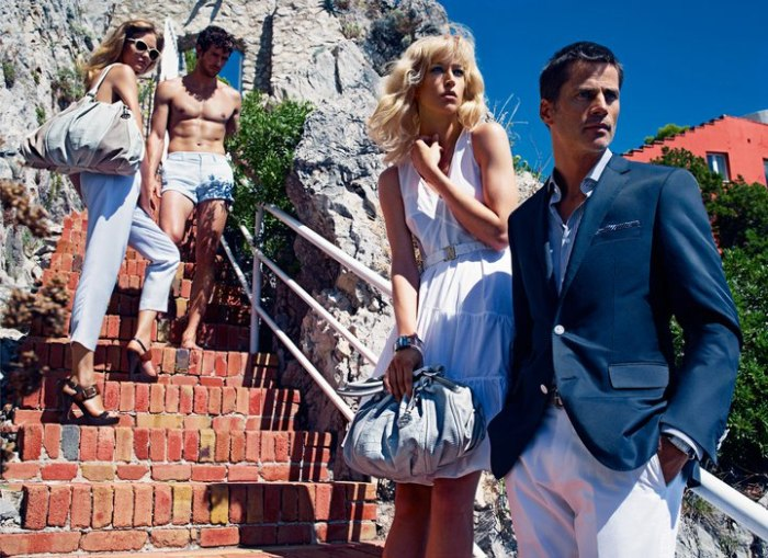 Hugo Boss Spring 2011 Campaign Preview   Raquel Zimmermann by Mario Sorrenti
