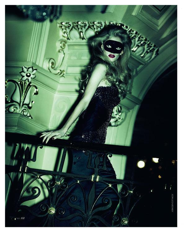 Ilse de Boer by Alexei Kolpakov for Elle Ukraine January 2011