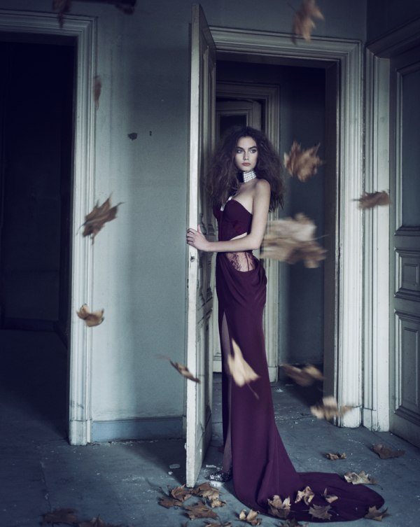 Kira Mazura by Ayten Alpun for Marie Claire Turkey January 2011