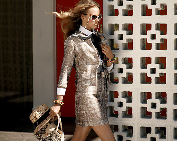 Louis Vuitton Cruise 2011: Anne Vyalitsyna by Mark Segal