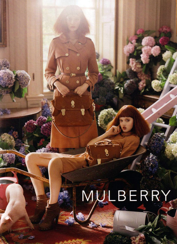 Mulberry Spring 2011 Campaign Preview | Lindsey Wixson by Tim Walker