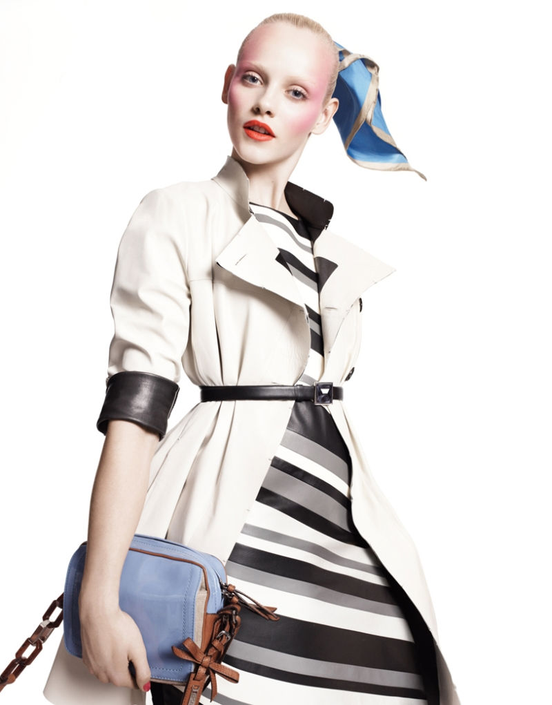 Ginta Lapina for Sportmax Spring 2011 Campaign