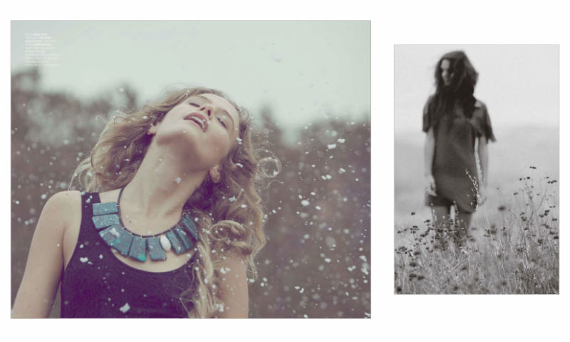Chasing Wolves by Harper Smith for Factory Winter 2010