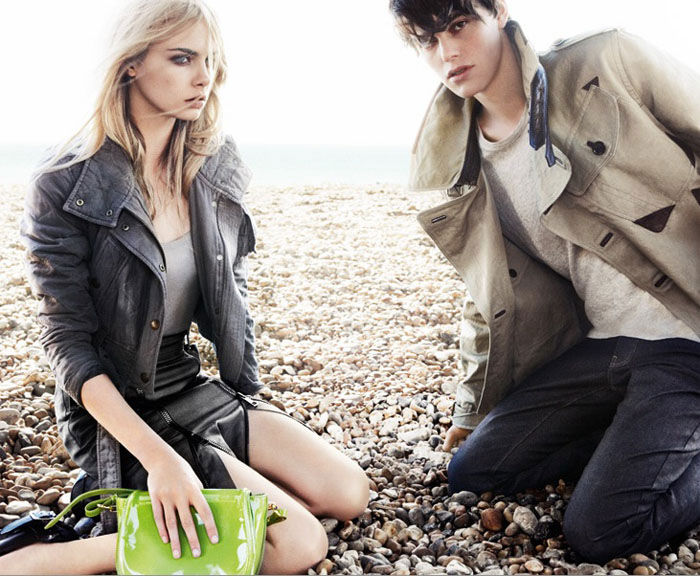 Burberry Spring 2011 Campaign Preview | Cara Delevingne by Mario Testino
