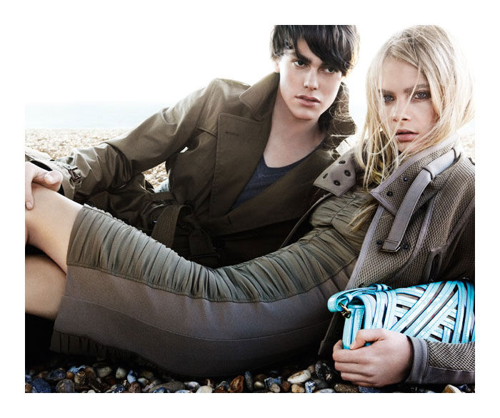 Burberry Spring 2011 Campaign Preview   Cara Delevingne by Mario Testino