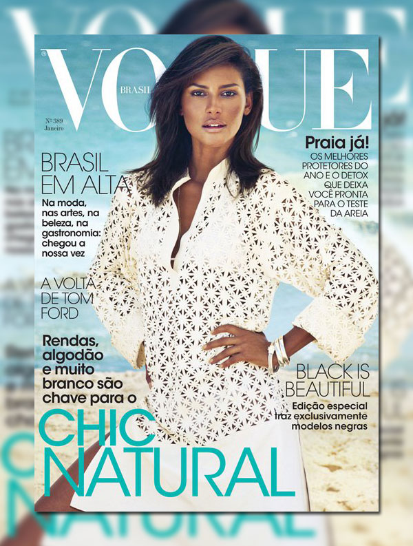 Emanuela de Paula for Vogue Brazil January 2011