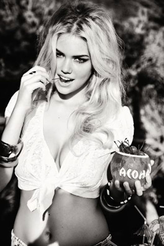 Guess Spring 2011 Campaign Preview | Kate Upton by Ellen von Unwerth