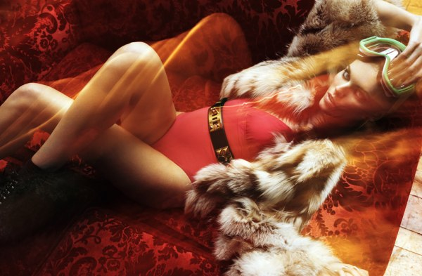 Maryna Linchuk by Greg Kadel for Vogue Germany January 2011