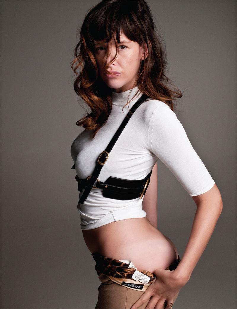 Paz de la Huerta by Theo Wenner for Paper Winter 2010/2011