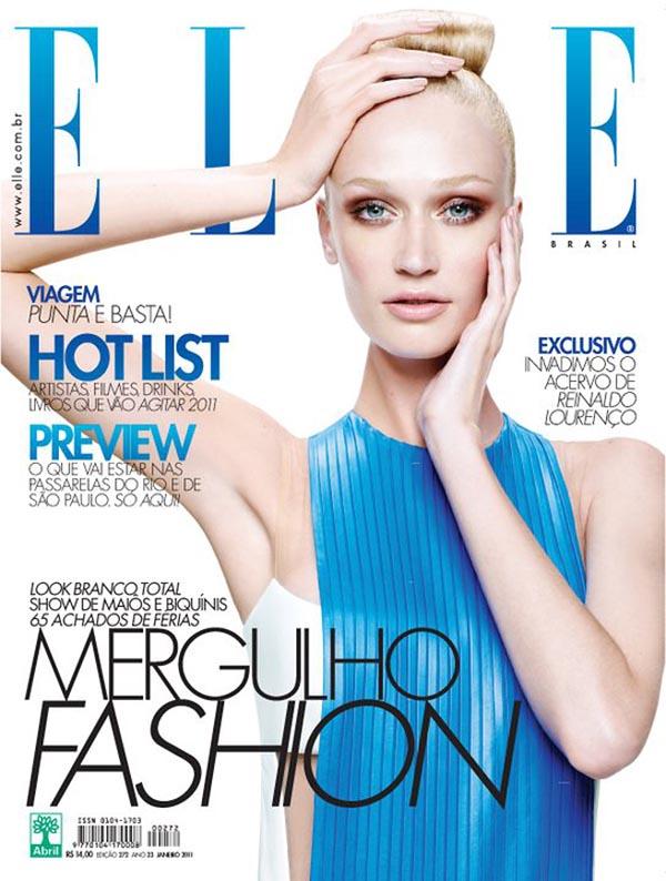 Viviane Orth for Elle Brazil January 2011