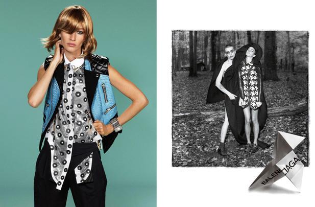 Balenciaga Spring 2011 Campaign | Gisele Bundchen by Steven Meisel