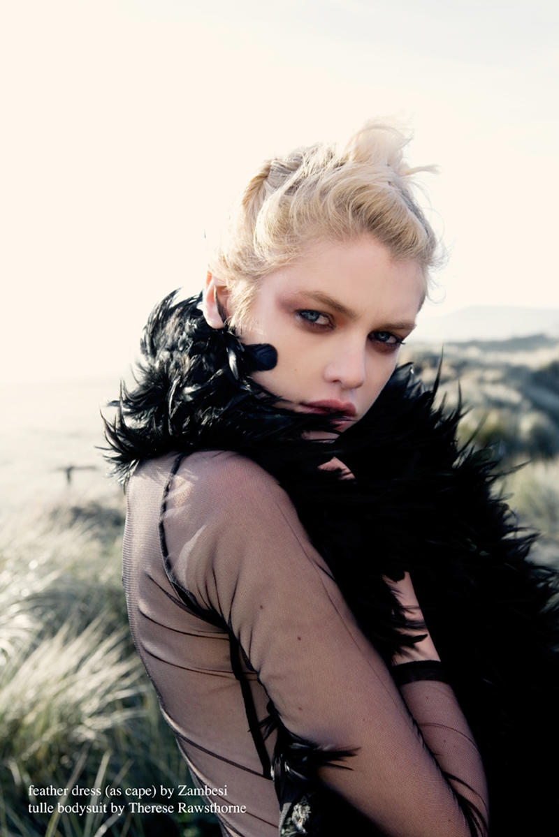 Stella Maxwell by David K. Shields in Cut & Paste for Fashion Gone Rogue