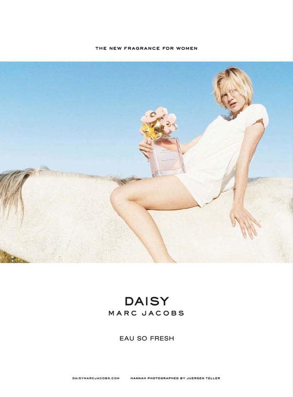 Daisy Eau So Fresh by Marc Jacobs Campaign | Hannah Holman by Juergen Teller
