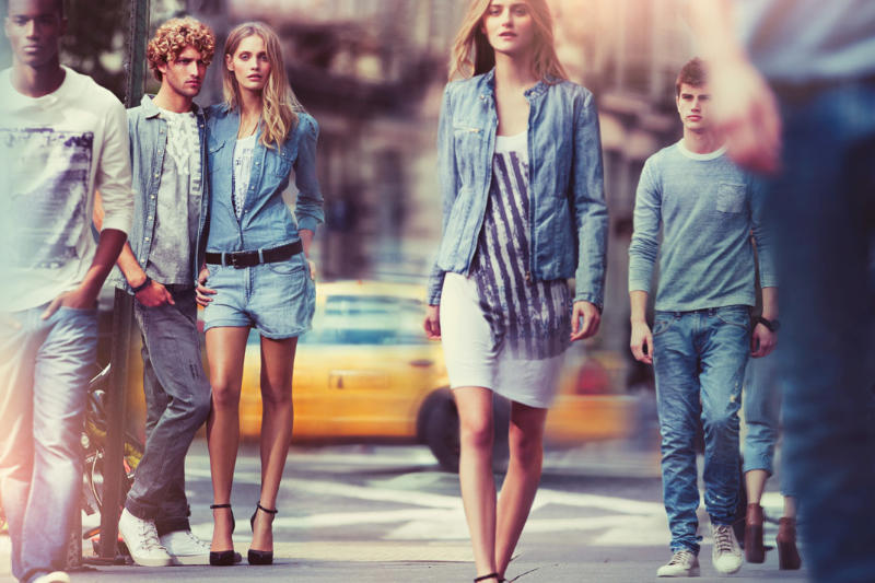 DKNY Spring 2011 Campaign | Heidi Mount by Nathaniel Goldberg