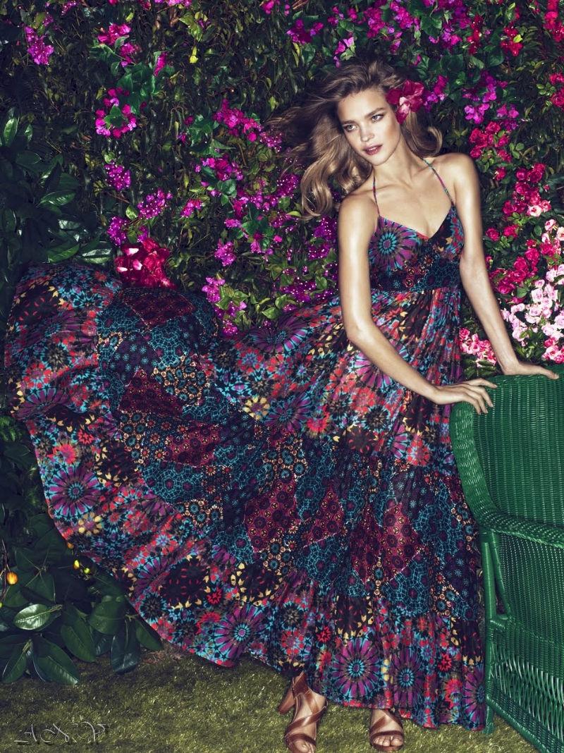 Natalia Vodianova for Etam Spring 2011 Campaign