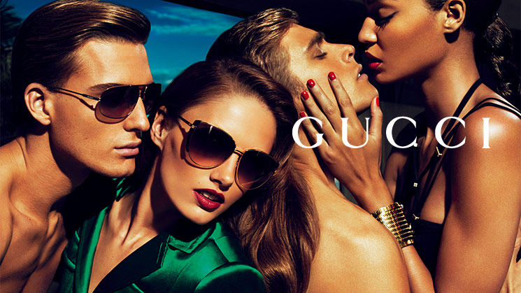 Gucci Accessories Spring 2011 Campaign | Karmen Pedaru & Joan Smalls by Mert & Marcus