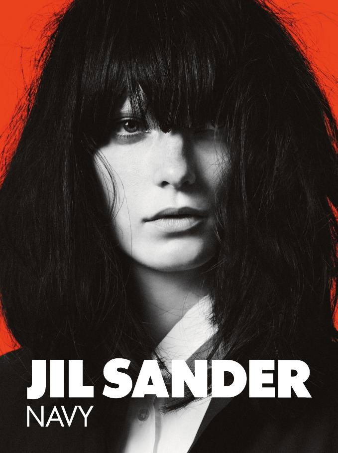 Jil Sander Navy Spring 2011 Campaign Preview | Valerija Kelava by David Sims