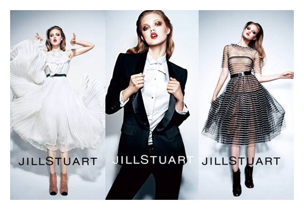 Jill Stuart Spring 2011 Campaign Preview | Lindsey Wixson by Mario Sorrenti