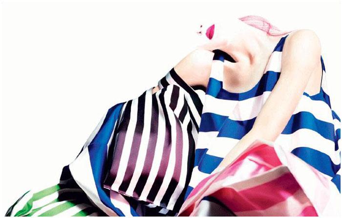 Jil Sander Spring 2011 Campaign | Daria Strokous by Willy Vanderperre