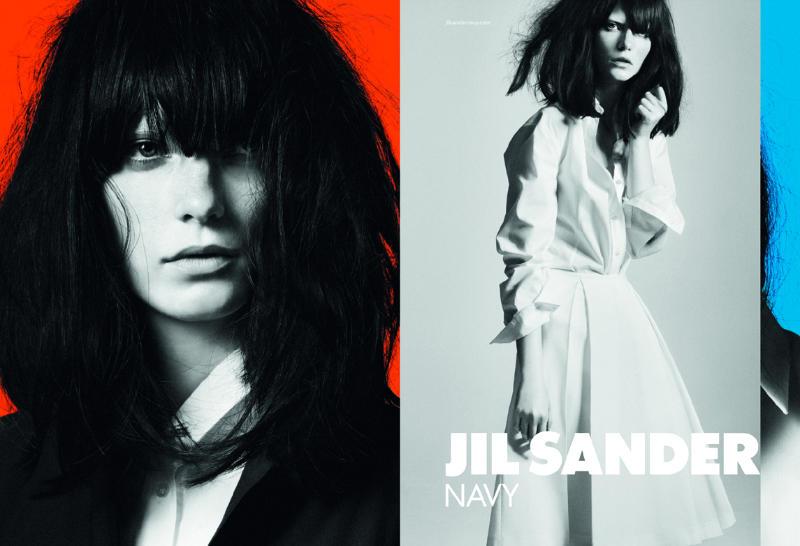 Jil Sander Navy Spring 2011 Campaign | Valerija Kelava by David Sims