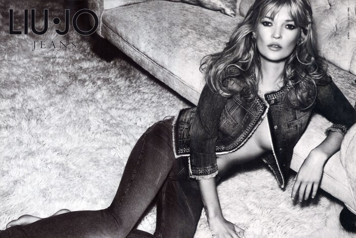 Kate Moss for Liu Jo Spring 2011 Campaign by Mario Sorrenti