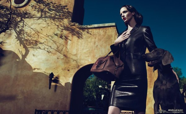 Mariacarla Boscono for Loewe Spring 2011 Campaign (Preview)